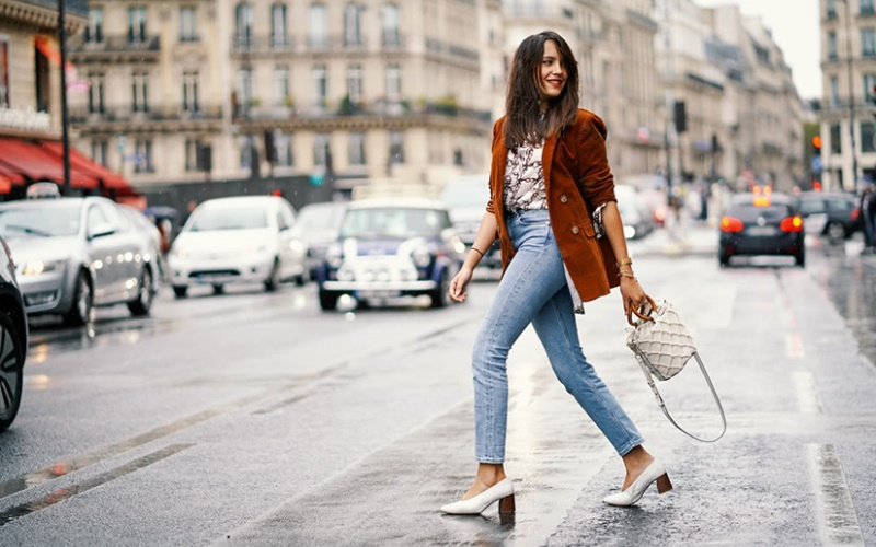 Winter Outfit Ideas in High-Waist Pants